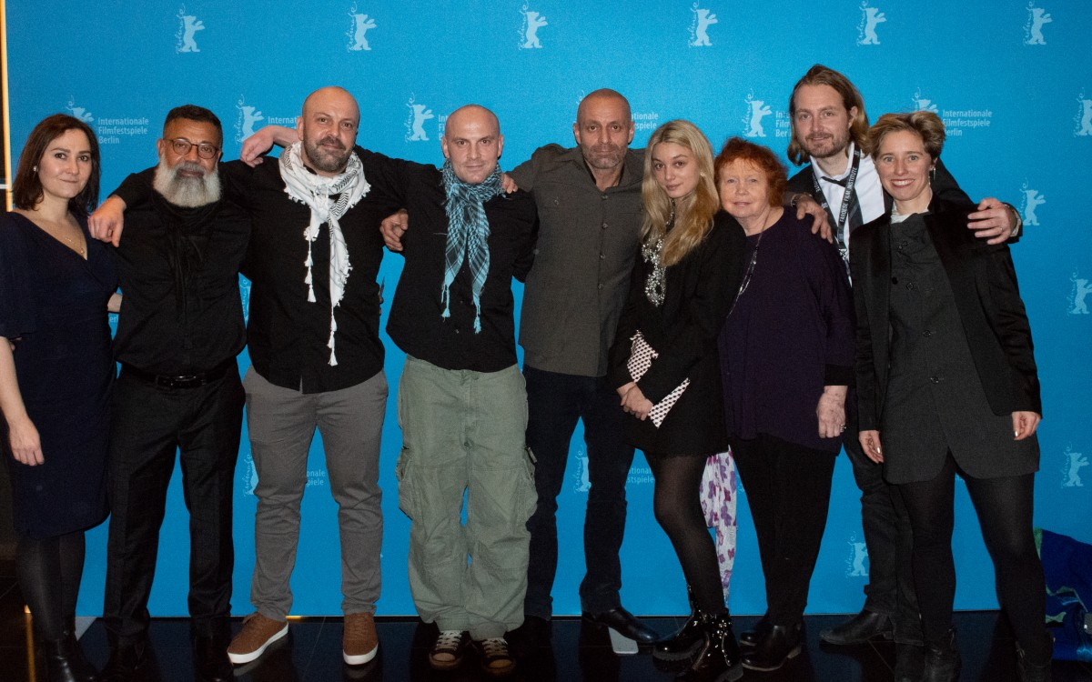 Film team   At the Photo Call.     Panorama  –   Western Arabs      Feb 8, 2019