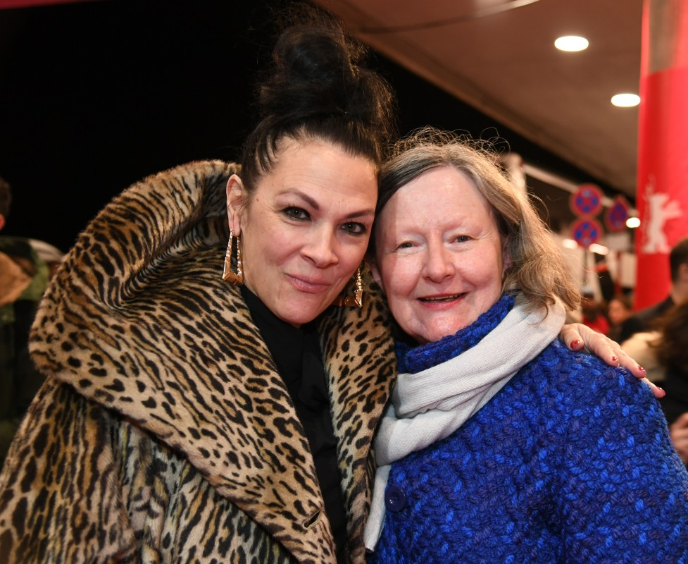 Jennifer Reeder, Maryanne Redpath   The director, here with the section head, has been presenting several of her films at the Berlinale before.     Generation  –   Knives and Skin      Feb 9, 2019