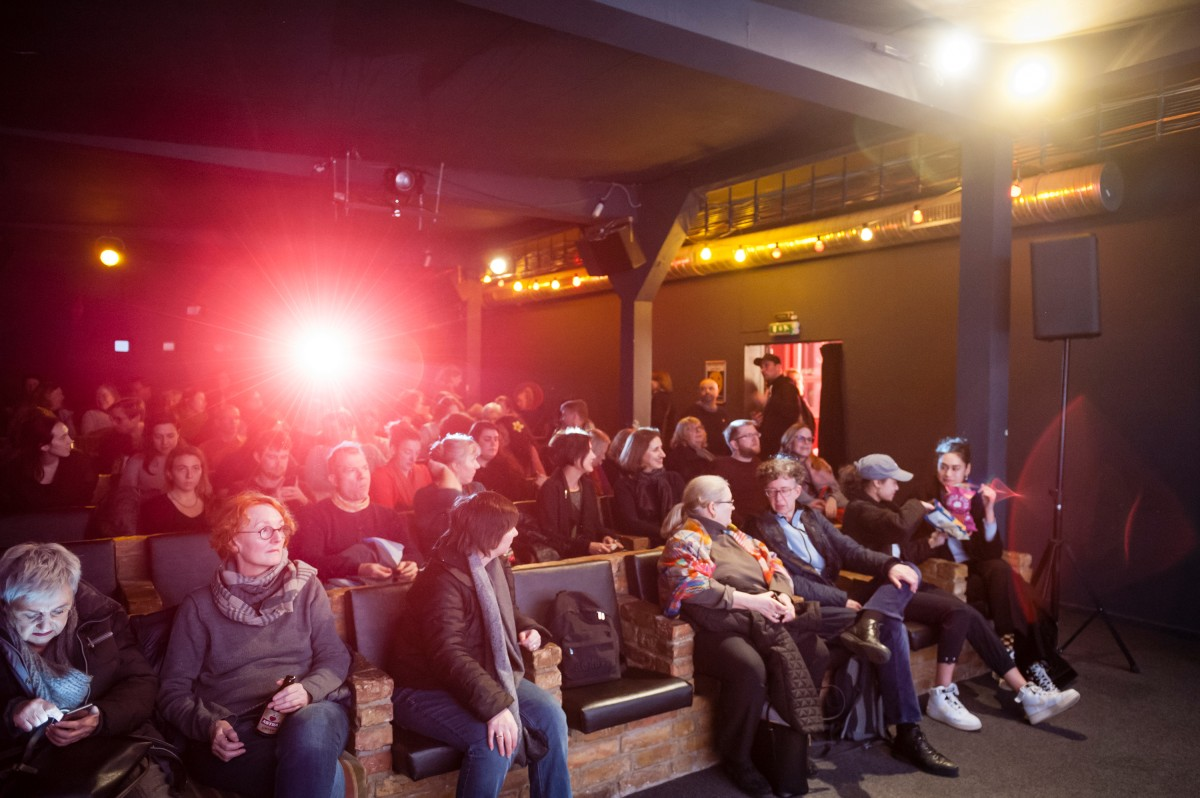 The audience in the neighbourhood cinema    The opening night at Sputnik Kino.     Berlinale Goes Kiez     Feb 9, 2019