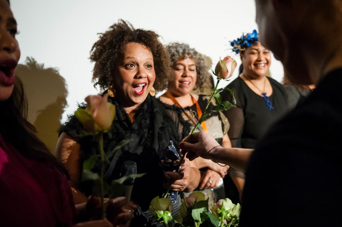 Kerry Warkia    The director enchanted by the flowery present.     Berlinale Goes Kiez  –   Vai      Feb 9, 2019