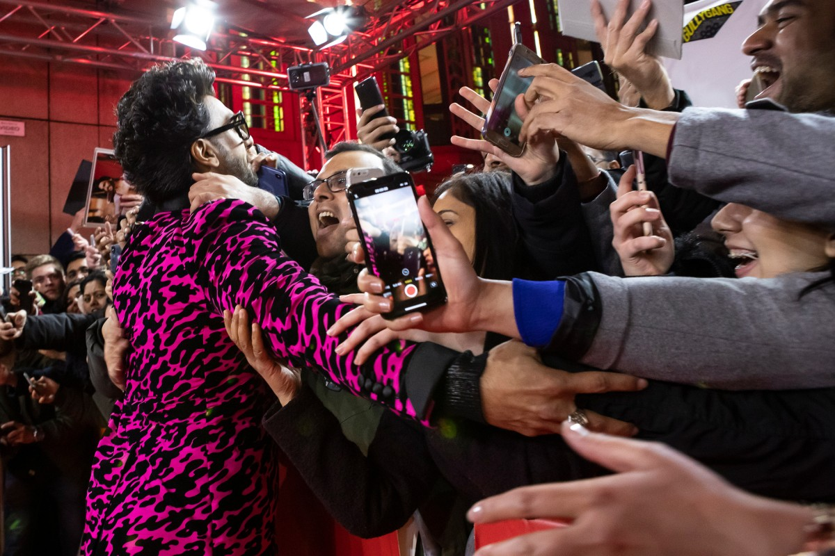 Ranveer Singh   An excited welcome!     Berlinale Special  –   Gully Boy      Feb 9, 2019