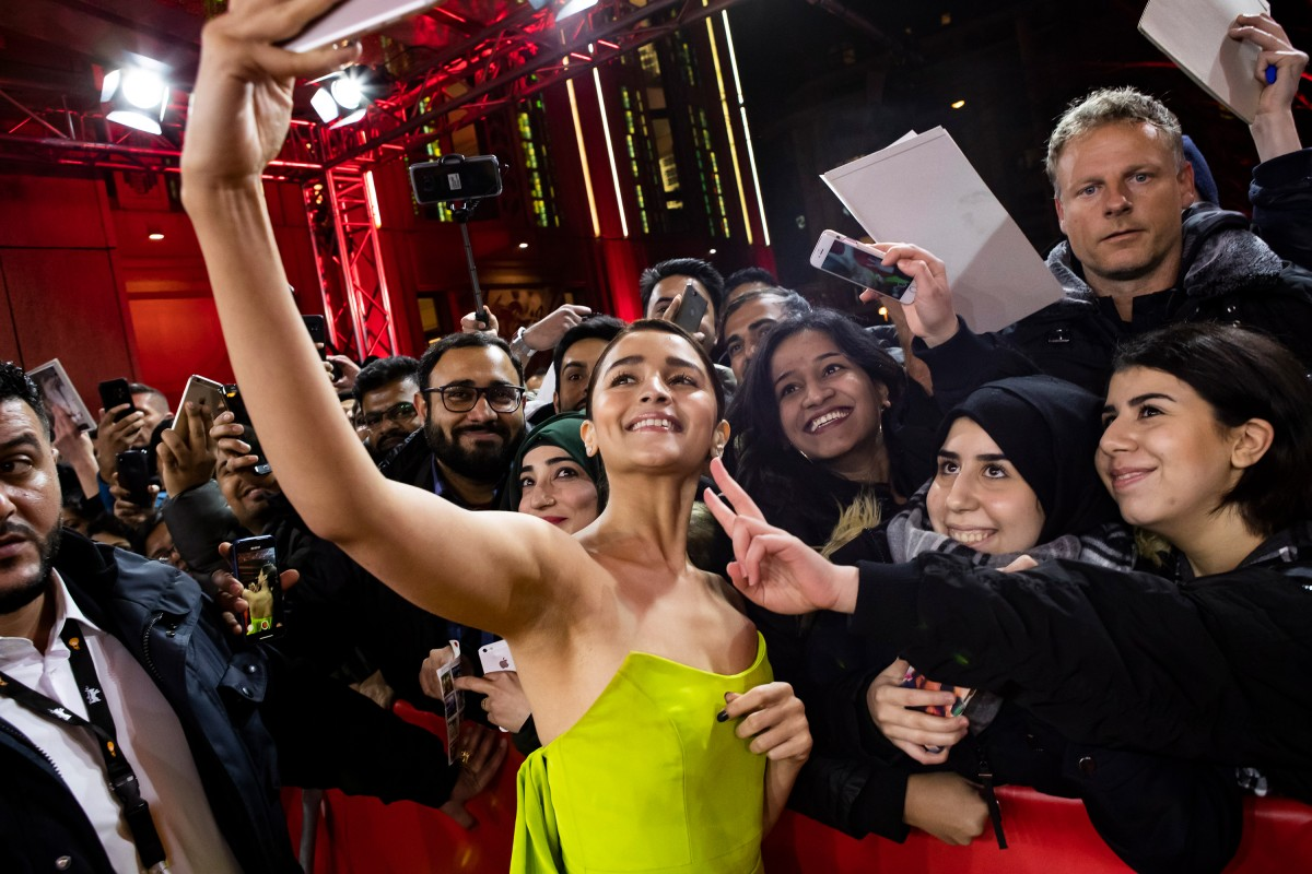 Alia Bhatt   A million selfies: the actress on the Red Carpet.     Berlinale Special  –   Gully Boy      Feb 9, 2019