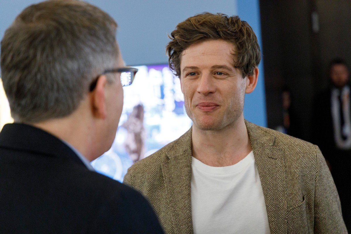 James Norton   The leading actor in the Berlinale VIP Club.     Competition  –   Mr. Jones      Feb 10, 2019