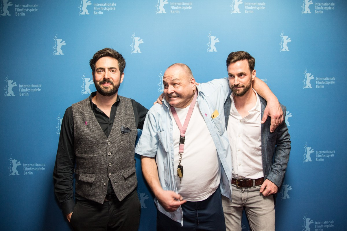 David Dietl, Frank Künster, Martin Heisler   The director, the protagonist and the producer of the film.     Perspektive Deutsches Kino  –   Berlin Bouncer      Feb 10, 2019