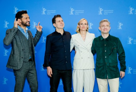 Feb 10, 2019Cas Anvar, Yuval Adler, Diane Kruger, Martin Freeman  The director and the actors at the Photo Call. Competition – The Operative | Die Agentin