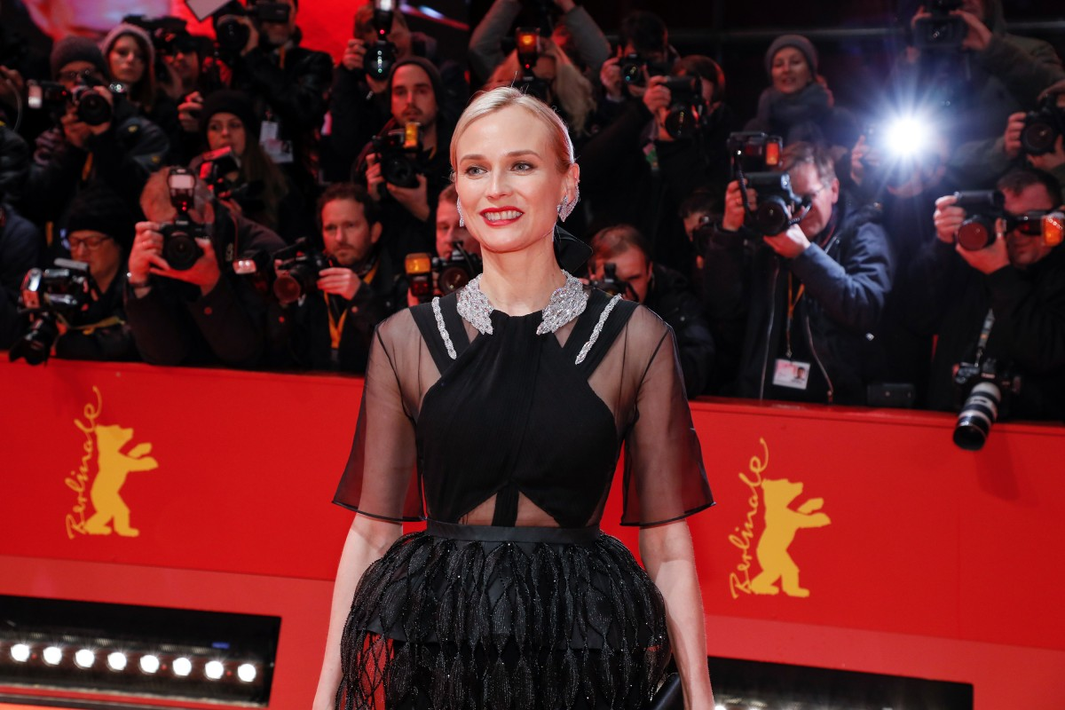 Diane Kruger   The actress on the Red Carpet.     Competition  –   The Operative  | Die Agentin     Feb 10, 2019
