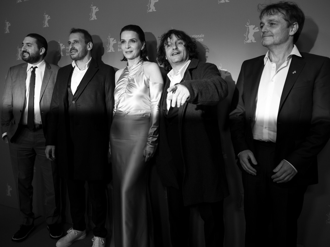 Ibrahim Maalouf, Safy Nebbou, Juliette Binoche, Gilles Porte, Cyril Gomez Mathieu   The film composer, the director, the leading actress, the cinematographer and the art director at the Photo Call.     Berlinale Special  –   Celle que vous croyez  | Who You Think I Am     Feb 10, 2019