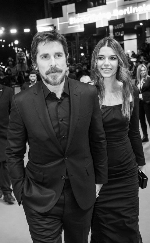 Christian Bale, Sibi Blažić   The actor with his wife on the Red Carpet.     Competition  –   Vice  | Vice – Der zweite Mann     Feb 11, 2019