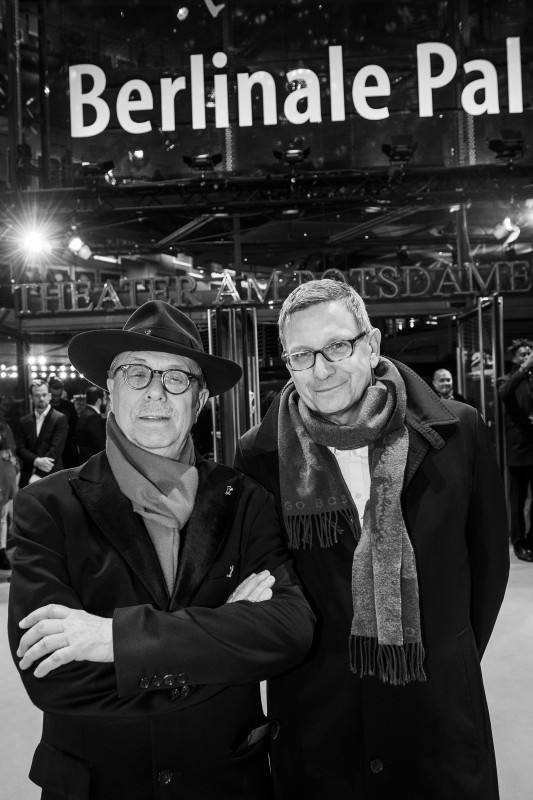 Dieter Kosslick, Thomas Hailer   The Festival Director and the Berlinale curator at the Berlinale Palast.     Competition  –   Kız Kardeşler  | A Tale of Three Sisters     Feb 11, 2019