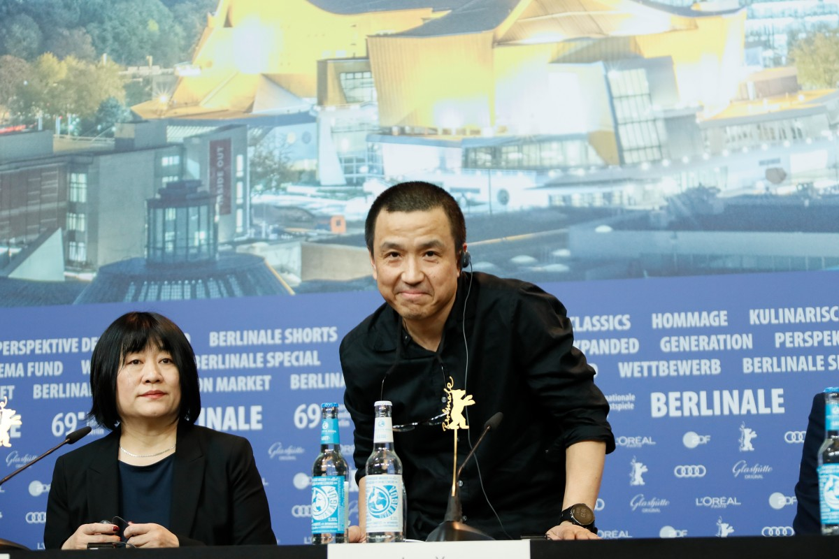 Ma Yingli, Lou Ye   The scriptwriter and the director at the Press Conference.     Panorama  –   The Shadow Play      Feb 11, 2019