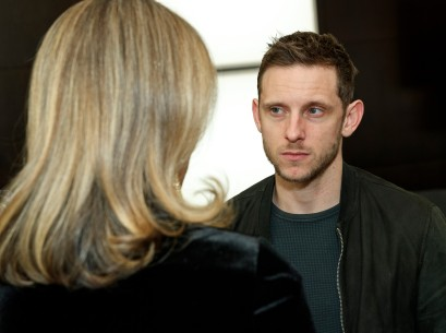 Feb 11, 2019Jamie Bell  The actor deep in conversation.  Panorama – Skin