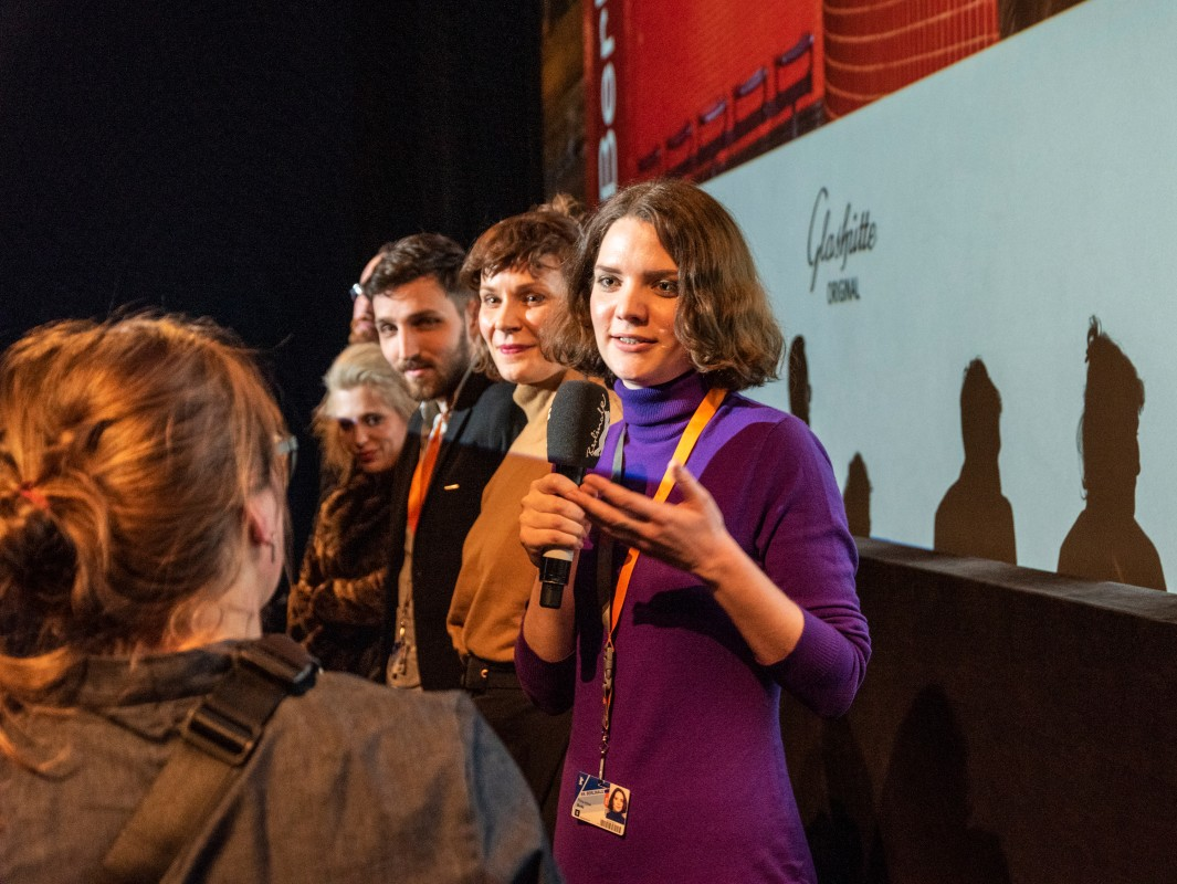 Flóra Anna Buda   The director discusses her film.     Berlinale Shorts  –   Entropia      Feb 11, 2019