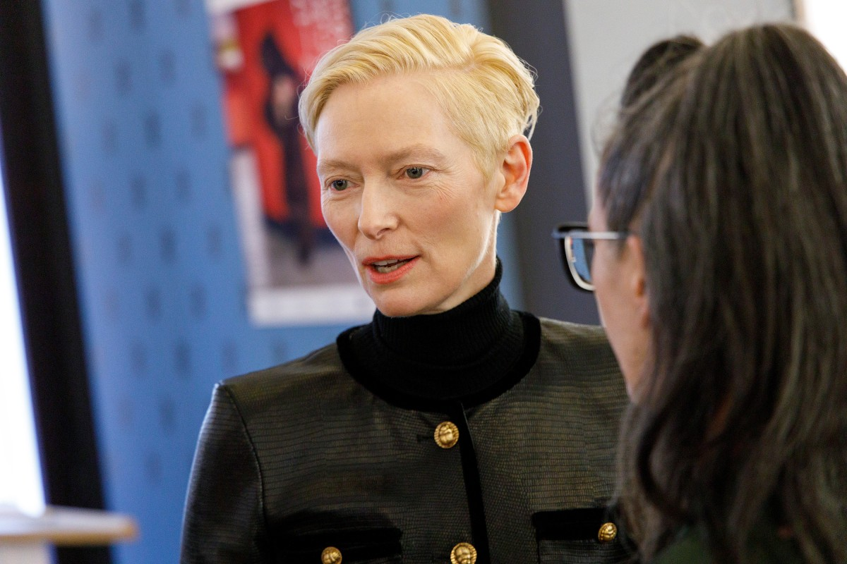 Tilda Swinton   The actress in the Berlinale VIP Club.     Panorama  –   The Souvenir      Feb 12, 2019