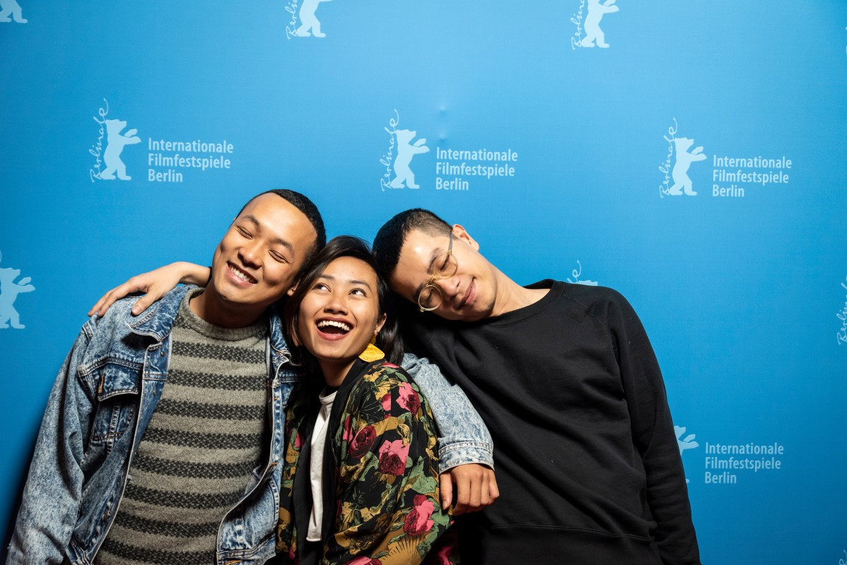 Duc Ngo Ngoc, Kelly Hoang, Pham Ngoc Lan   The producer, the production designer and the director of the Vietnamese film.     Berlinale Shorts  –   Mot Khu Dat Tot  | Blessed Land     Feb 12, 2019