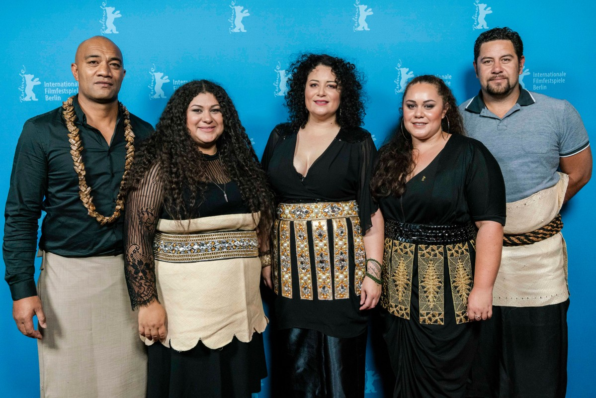 Jeremiah Tauamiti, Vea Mafile'o, Emily Mafile'o, Elizabeth Mafile'o, Robert Mafile'o   The directors with their cast.     NATIVe  –   For My Father's Kingdom      Feb 12, 2019