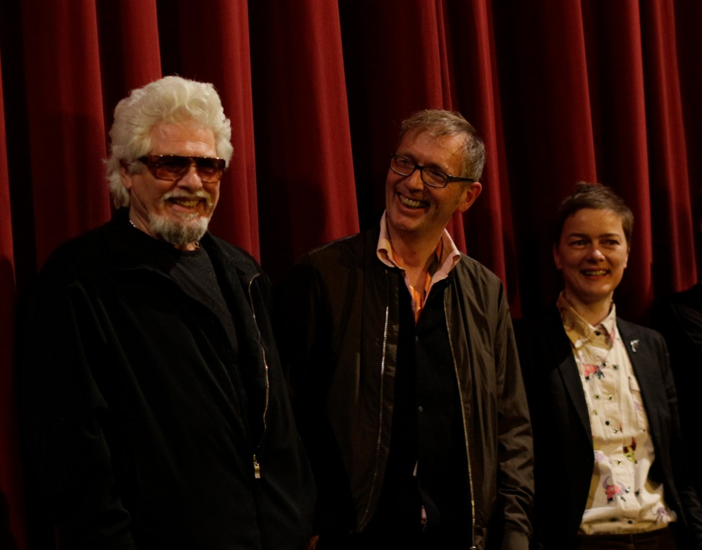 Ricky Shane, Stephan Geene, Caroline Kirberg   The former pop star and protagonist together with the director and the assistant director.     Forum Expanded  –   SHAYNE      Feb 12, 2019