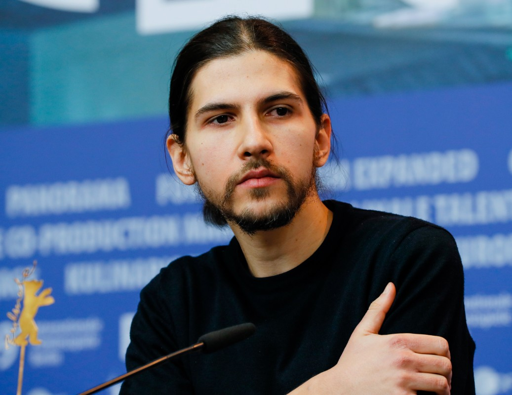 Ivan Marković   The cinematographer at the Press Conference.     Competition  –   Ich war zuhause, aber  | I Was at Home, But     Feb 12, 2019