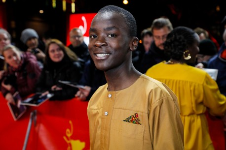 12.2.2019Maxwell Simba  Der Schauspieler am Friedrichstadt-Palast. Berlinale Special – The Boy Who Harnessed the Wind