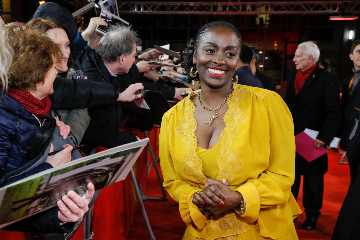 Aïssa Maïga   The actress on the Red Carpet at the Friedrichstadt-Palast.     Berlinale Special  –   The Boy Who Harnessed the Wind      Feb 12, 2019