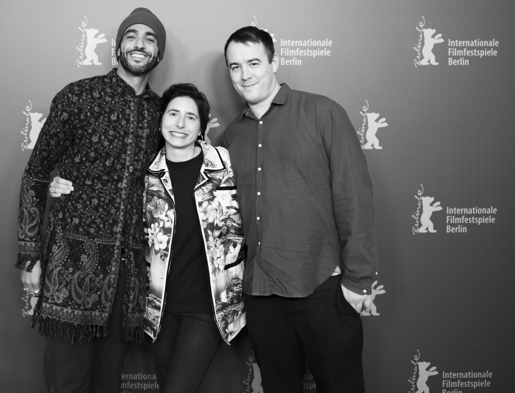 Sol Guy, Prune Nourry, Alastair Siddons   The executive producer, the director and the scriptwriter at the Photo Call.     Panorama  –   Serendipity      Feb 12, 2019