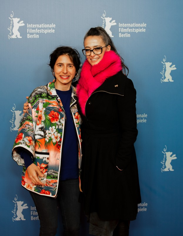 Prune Nourry, Paz Lázaro   The director and the section head.     Panorama  –   Serendipity      Feb 12, 2019