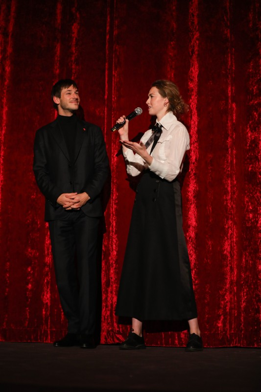 Gaspard Ulliel, Freya Mavor   The series colleagues discussing their work.     Berlinale Series  –   Il était une seconde fois  | Twice Upon a Time     Feb 12, 2019