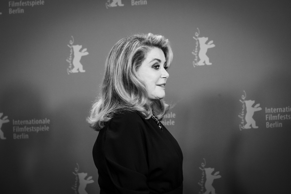 Catherine Deneuve   The actress at the Photo Call.     Competition  –   L'adieu à la nuit  | Farewell to the Night     Feb 12, 2019