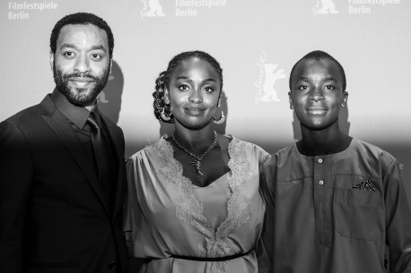 12.2.2019Chiwetel Ejiofor, Aïssa Maïga, Maxwell Simba  Der Regisseur und seine Schauspieler beim Photo-Call. Berlinale Special – The Boy Who Harnessed the Wind