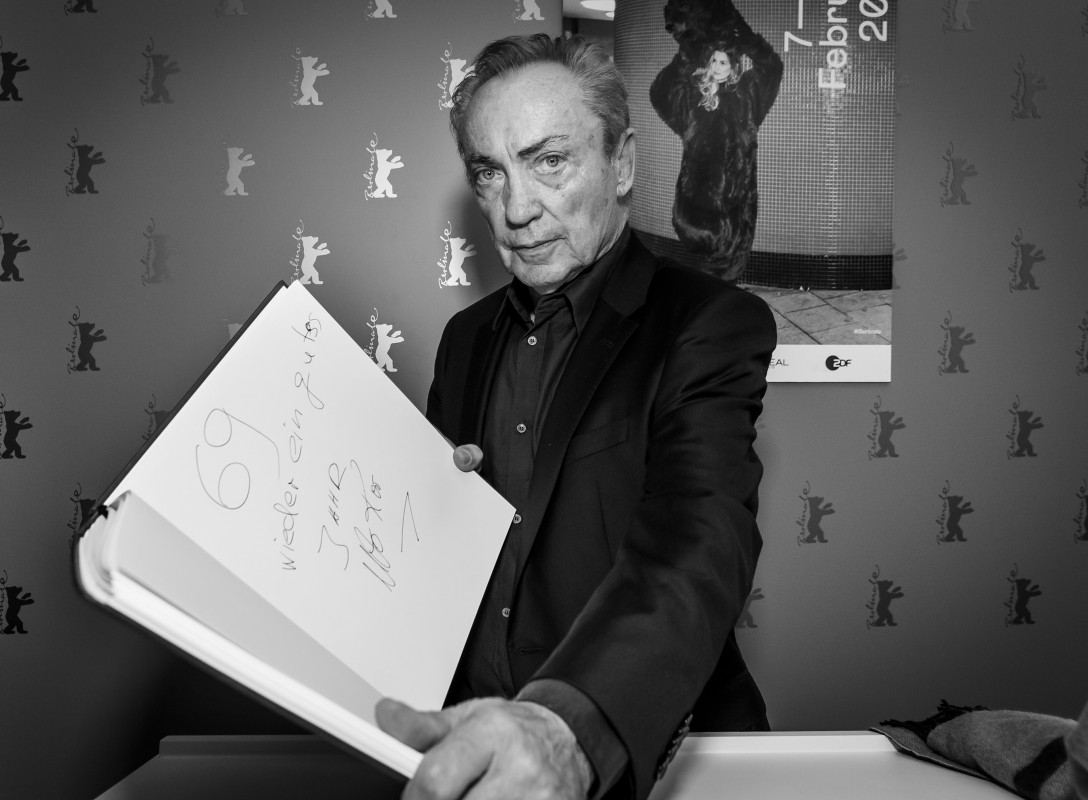 Udo Kier   The actor is a fan of the number of this year's Berlinale.     Panorama  –   La fiera y la fiesta  | Holy Beasts     Feb 13, 2019