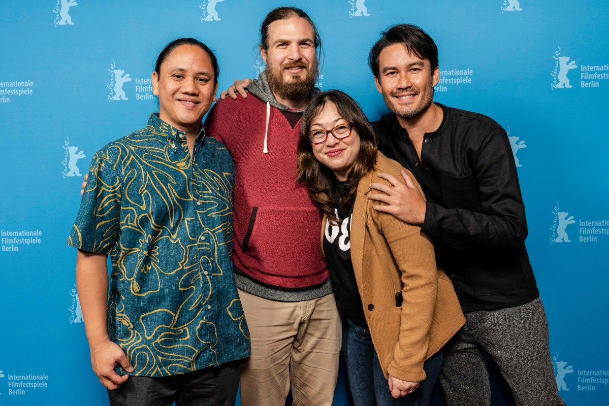 Ty Sanga, Chapin Hall, Ciara Lacy, Beau Bassett   The director of  Stones  with the cinematographer, the director and the producer of  Out of State .     NATIVe     Feb 13, 2019