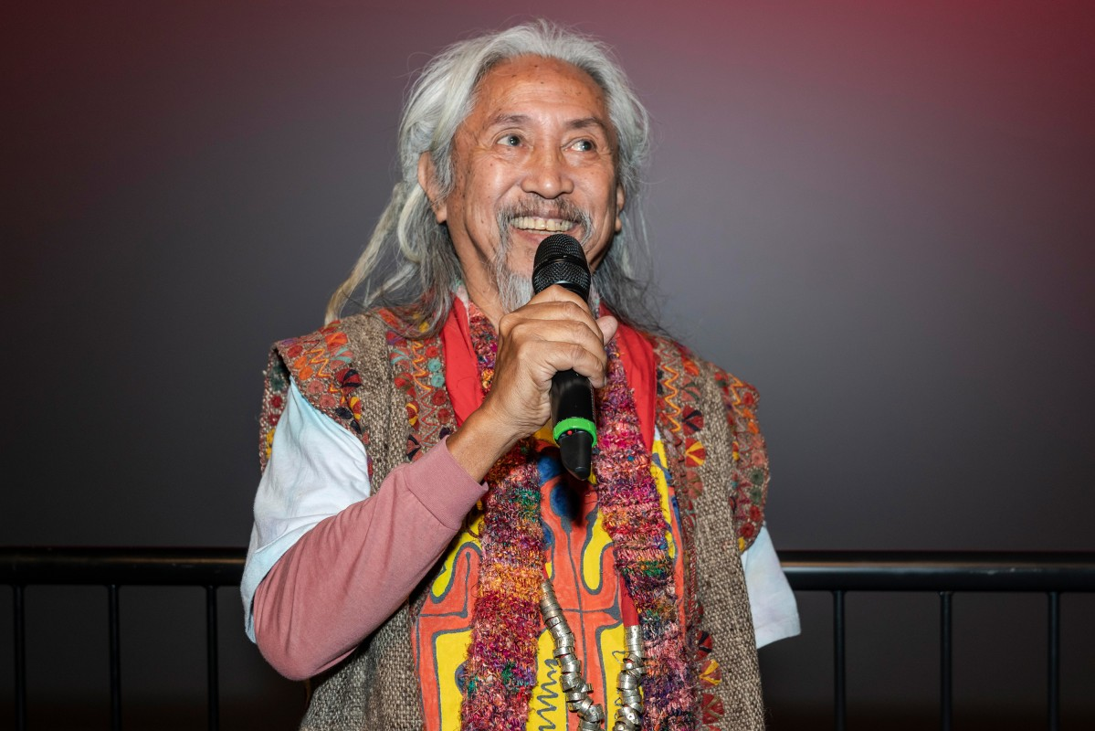 Kidlat Tahimik   The director during Q&A.     NATIVe  –   Mababangong bangungot  | The Perfumed Nightmare     Feb 14, 2019