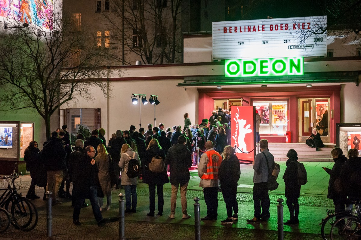 Odeon   A big run in Schöneberg.     Berlinale Goes Kiez     Feb 14, 2019