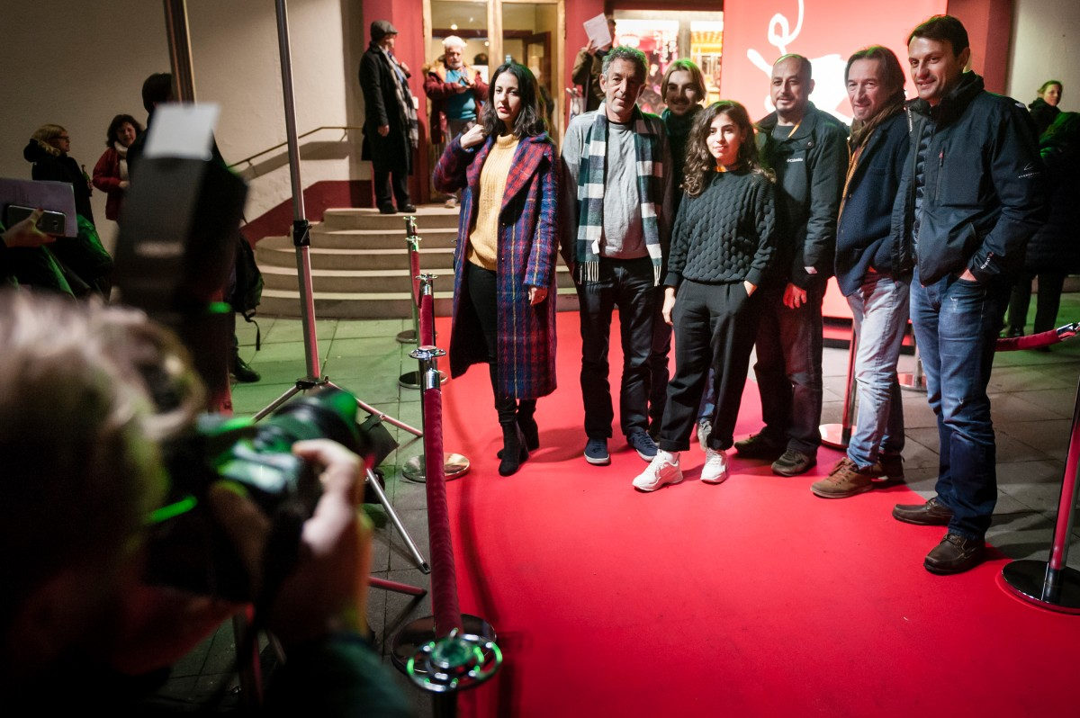 Berlinale Shorts Goes Kiez   The directors at the Odeon in Berlin-Schöneberg.     Berlinale Goes Kiez     Feb 14, 2019