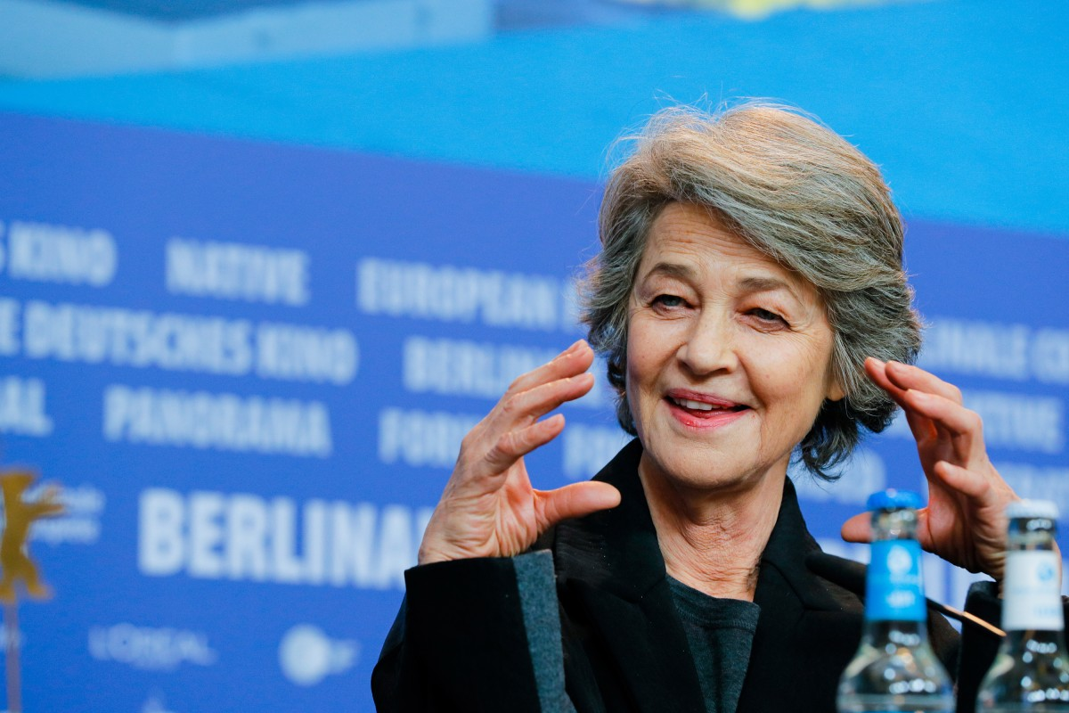 Charlotte Rampling   The actress at the Press Conference.     Homage  – Honorary Golden Bear    Feb 14, 2019