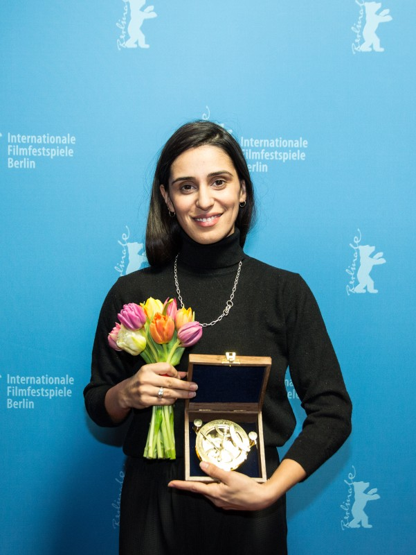 Maryam Zaree   The winner of the Compass- Perspektive -Award.      Born in Evin      Feb 15, 2019