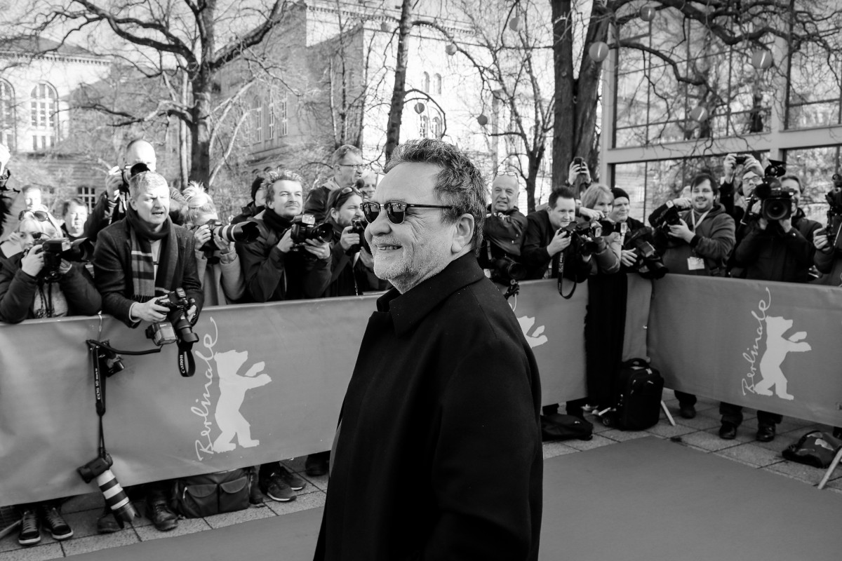 Jean Michel Vecchiet   The director at the premiere.     Berlinale Special  –   Peter Lindbergh – Women's Stories      Feb 15, 2019