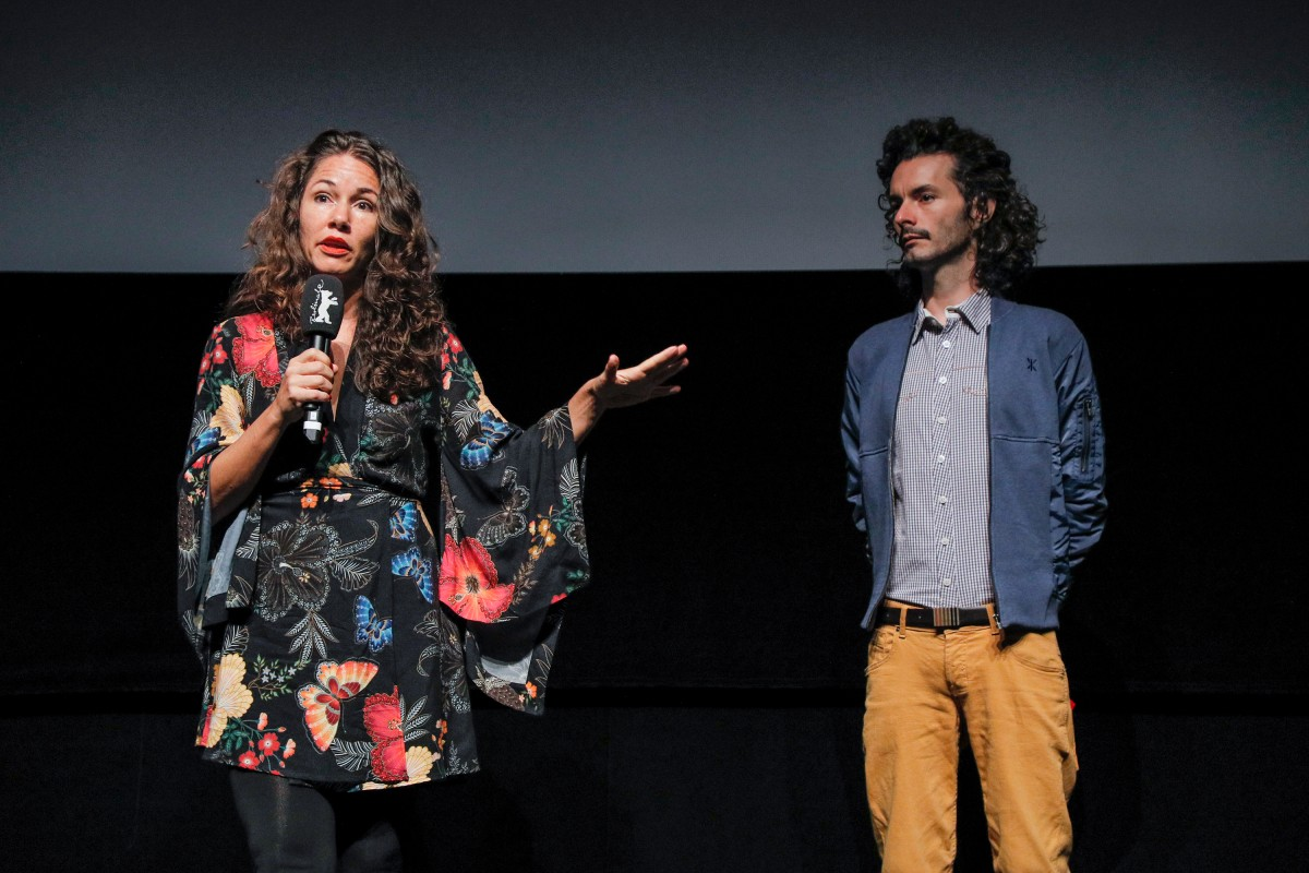 Eliza Capai, Yuri Amaral   The director and the editor at the award ceremony.     Generation  –   Espero tua (re)volta  | Your Turn  – Amnesty International Film Prize    Feb 17, 2019