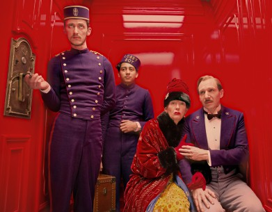 The Grand Budapest Hotel | Grand Budapest Hotel   Competition  USA/GBR/DEU 2013  by: Wes Anderson Paul Schlase, Toni Revolori, Tilda Swinton, Ralph Fiennes © 2013 Twentieth Century Fox
