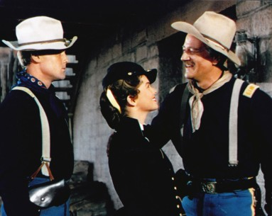 She Wore a Yellow Ribbon | Der Teufelshauptmann   Retrospektive  USA 1949  von: John Ford John Agar, Joanne Dru, John Wayne Quelle: British Film Institute, London